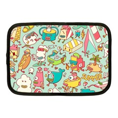 Summer Up Pattern Netbook Case (medium)