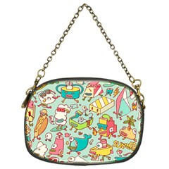 Summer Up Pattern Chain Purses (One Side)