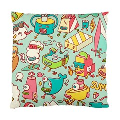 Summer Up Pattern Standard Cushion Case (one Side)