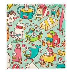 Summer Up Pattern Shower Curtain 66  x 72  (Large)