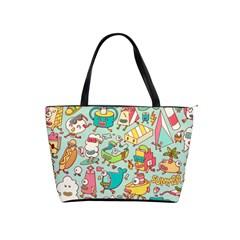 Summer Up Pattern Shoulder Handbags