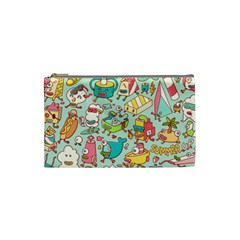 Summer Up Pattern Cosmetic Bag (Small)
