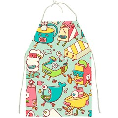 Summer Up Pattern Full Print Aprons