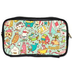 Summer Up Pattern Toiletries Bags