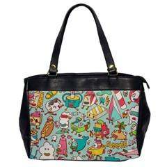 Summer Up Pattern Office Handbags