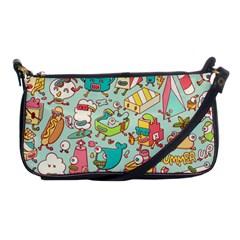 Summer Up Pattern Shoulder Clutch Bags