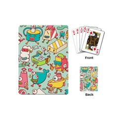 Summer Up Pattern Playing Cards (mini)