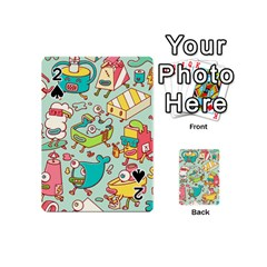 Summer Up Pattern Playing Cards 54 (mini)