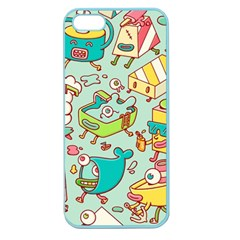 Summer Up Pattern Apple Seamless Iphone 5 Case (color)