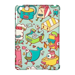 Summer Up Pattern Apple Ipad Mini Hardshell Case (compatible With Smart Cover)