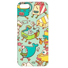 Summer Up Pattern Apple iPhone 5 Hardshell Case with Stand