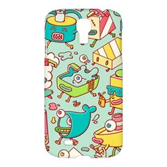 Summer Up Pattern Samsung Galaxy S4 I9500/I9505 Hardshell Case