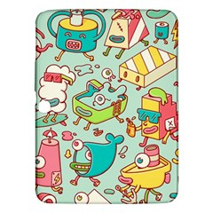 Summer Up Pattern Samsung Galaxy Tab 3 (10 1 ) P5200 Hardshell Case