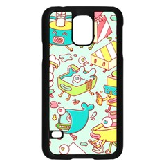 Summer Up Pattern Samsung Galaxy S5 Case (black)