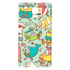 Summer Up Pattern Galaxy Note 4 Back Case
