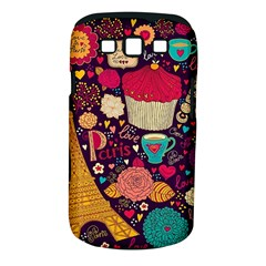 Cute Colorful Doodles Colorful Cute Doodle Paris Samsung Galaxy S Iii Classic Hardshell Case (pc+silicone)