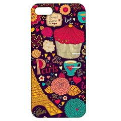 Cute Colorful Doodles Colorful Cute Doodle Paris Apple Iphone 5 Hardshell Case With Stand