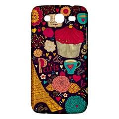Cute Colorful Doodles Colorful Cute Doodle Paris Samsung Galaxy Mega 5 8 I9152 Hardshell Case
