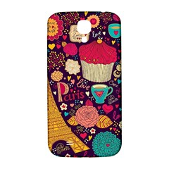 Cute Colorful Doodles Colorful Cute Doodle Paris Samsung Galaxy S4 I9500/i9505  Hardshell Back Case
