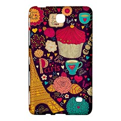 Cute Colorful Doodles Colorful Cute Doodle Paris Samsung Galaxy Tab 4 (7 ) Hardshell Case