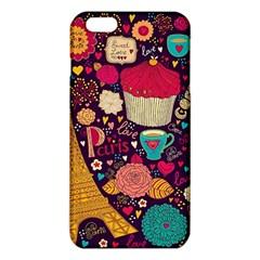 Cute Colorful Doodles Colorful Cute Doodle Paris Iphone 6 Plus/6s Plus Tpu Case