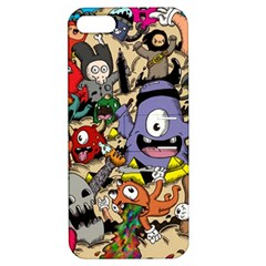 Hipster Wallpaper Pattern Apple Iphone 5 Hardshell Case With Stand