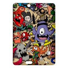 Hipster Wallpaper Pattern Amazon Kindle Fire Hd (2013) Hardshell Case
