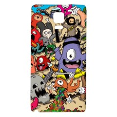 Hipster Wallpaper Pattern Galaxy Note 4 Back Case