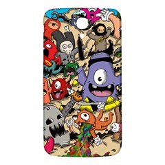 Hipster Wallpaper Pattern Samsung Galaxy Mega I9200 Hardshell Back Case