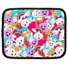 Cute Cartoon Pattern Netbook Case (XL)
