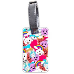 Cute Cartoon Pattern Luggage Tags (Two Sides)
