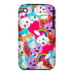 Cute Cartoon Pattern Iphone 3s/3gs