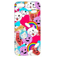 Cute Cartoon Pattern Apple iPhone 5 Hardshell Case with Stand
