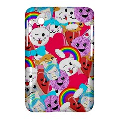 Cute Cartoon Pattern Samsung Galaxy Tab 2 (7 ) P3100 Hardshell Case