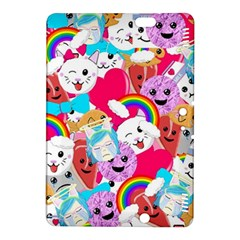 Cute Cartoon Pattern Kindle Fire Hdx 8 9  Hardshell Case