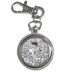 Cute Doodles Key Chain Watches