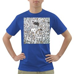Cute Doodles Dark T Shirt