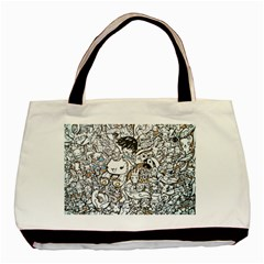 Cute Doodles Basic Tote Bag