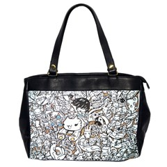 Cute Doodles Office Handbags (2 Sides)