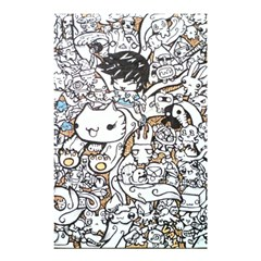 Cute Doodles Shower Curtain 48  X 72  (small)