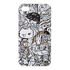 Cute Doodles Apple iPhone 4/4S Hardshell Case