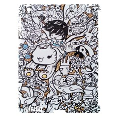 Cute Doodles Apple Ipad 3/4 Hardshell Case (compatible With Smart Cover)