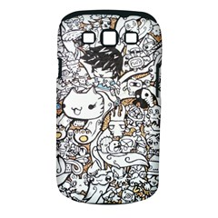Cute Doodles Samsung Galaxy S Iii Classic Hardshell Case (pc+silicone)