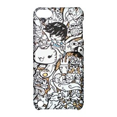 Cute Doodles Apple Ipod Touch 5 Hardshell Case With Stand