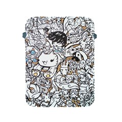 Cute Doodles Apple Ipad 2/3/4 Protective Soft Cases