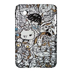Cute Doodles Samsung Galaxy Tab 2 (7 ) P3100 Hardshell Case