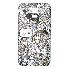 Cute Doodles Samsung Galaxy S5 Back Case (white)