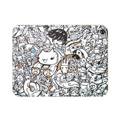 Cute Doodles Double Sided Flano Blanket (mini)