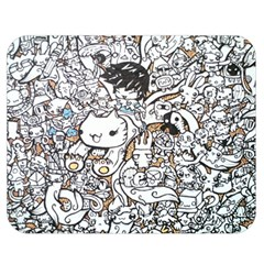 Cute Doodles Double Sided Flano Blanket (medium)