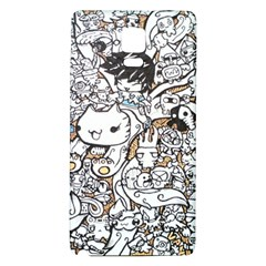Cute Doodles Galaxy Note 4 Back Case